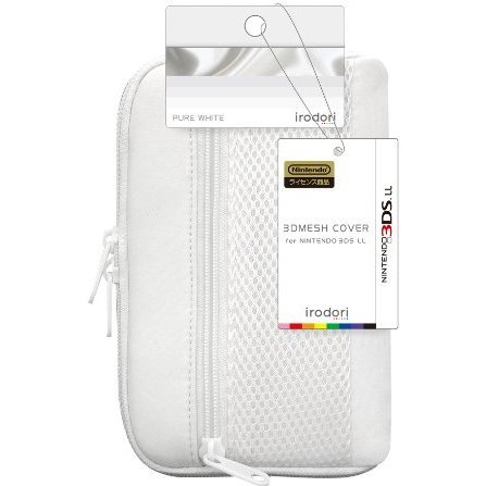 3D Mesh Cover for 3DS LL (Pure White)