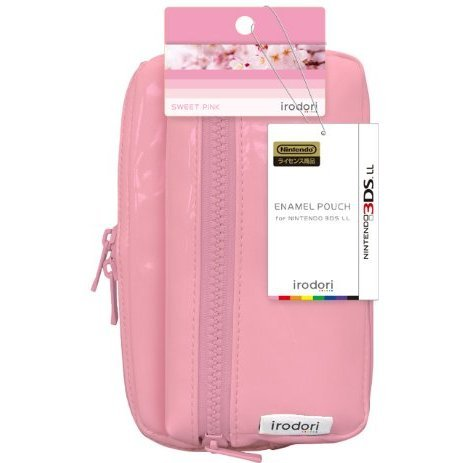 Enamel Pouch for 3DS LL (Sweet Pink)