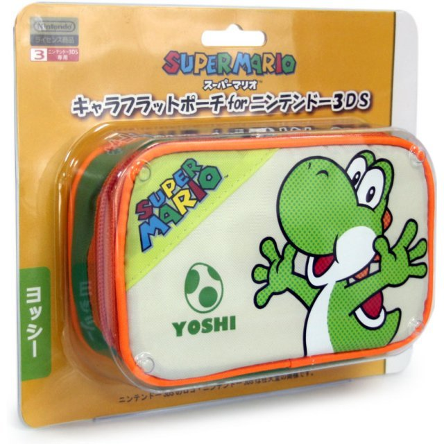 Character Flat Pouch 3DS (Yoshi Version)