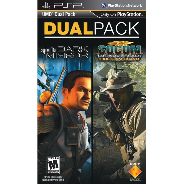 Dual Pack: Syphon Filter: Dark Mirror / SOCOM: U.S. Navy SEALs Fireteam Bravo