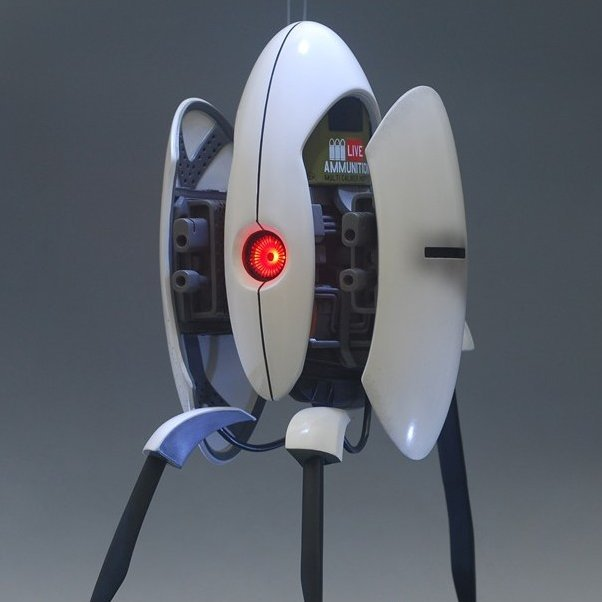 Gaming Heads Statue Portal 2: Turret
