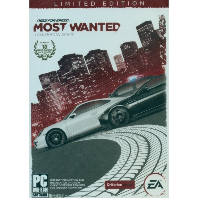 Need for Speed: Most Wanted - A Criterion Game (Limited Edition) (DVD-ROM) (English Version)