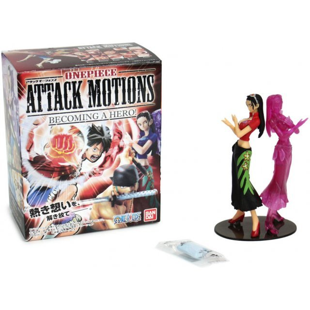 One Piece Attack Motions Pre-Painted Candy Toy ~ Becoming A Hero ~