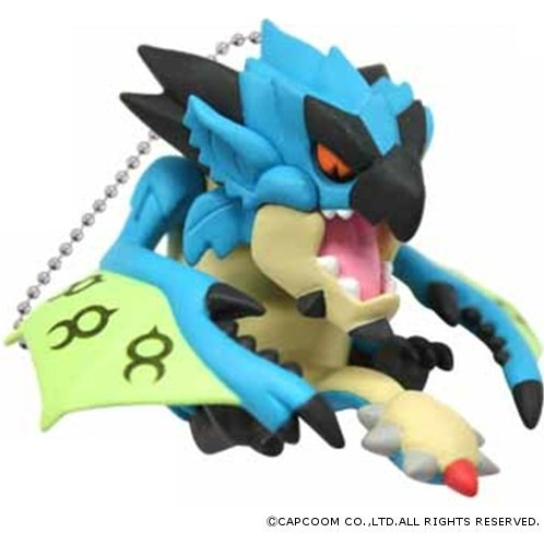 Capcom Monster Hunter Furifuri Mascot Key Chain: Liolaeus Subspecies