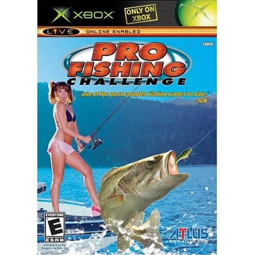 Pro fishing challenge for Xbox fishing games