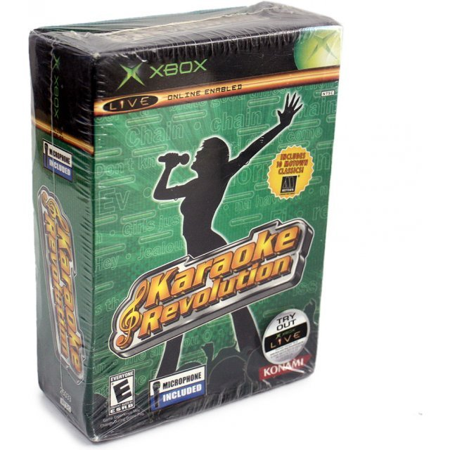 Karaoke Revolution Bundle (w/Microphone)