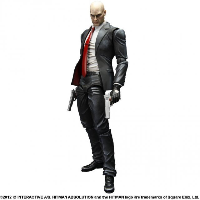 HITMAN ABSOLUTION Play Arts Kai Pre-Painted Figure: Agent 47