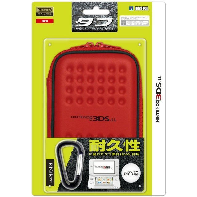 Tough Pouch for 3DS LL (Red)