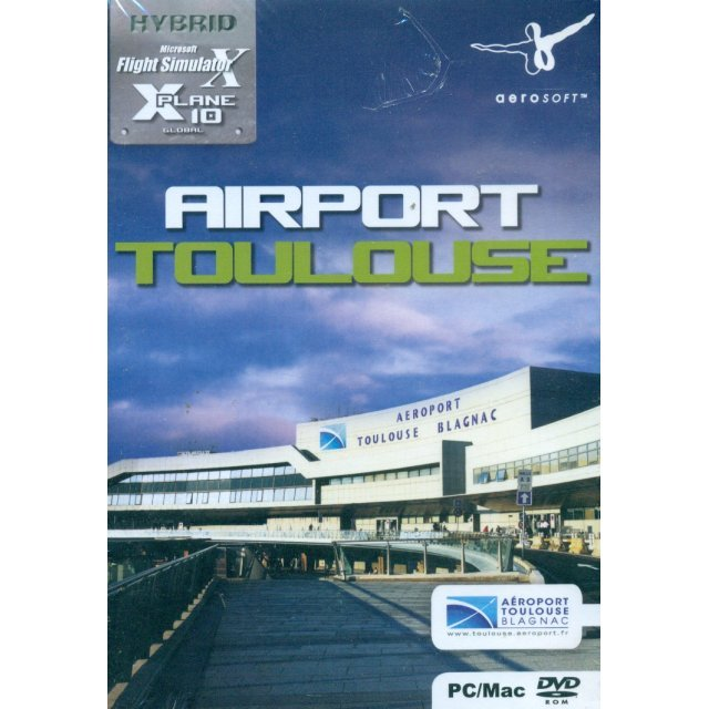 Airport Toulouse for X-Plane 10 (DVD-ROM)