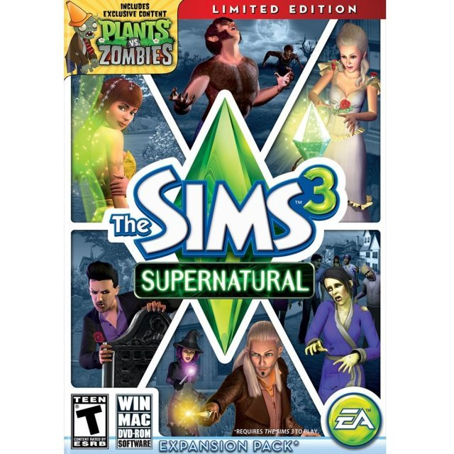 The Sims 3 Supernatural (Limited Edition) (DVD-ROM)