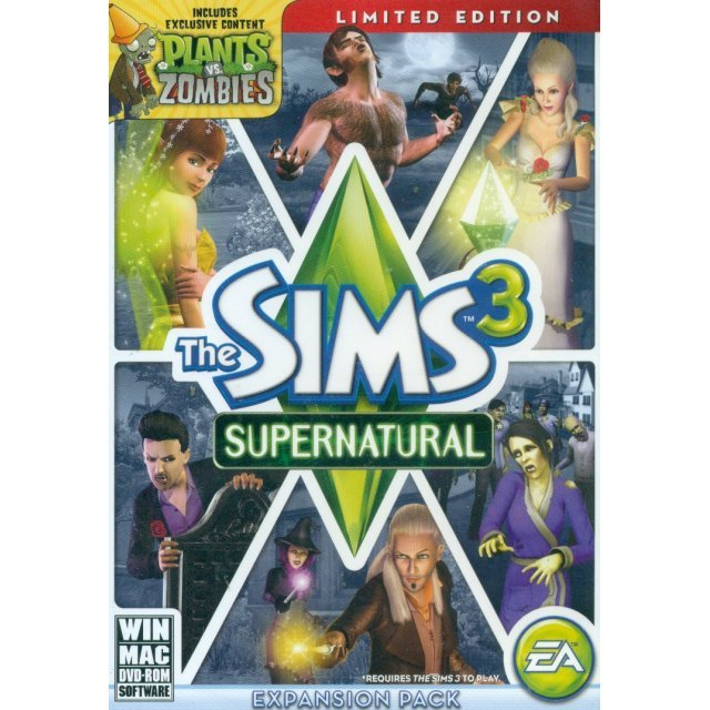 The Sims 3 Supernatural (Limited Edition) (English Version) (DVD-ROM)