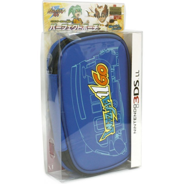 Inazuma Eleven Go Perfect Pouch for 3DS LL (blue)