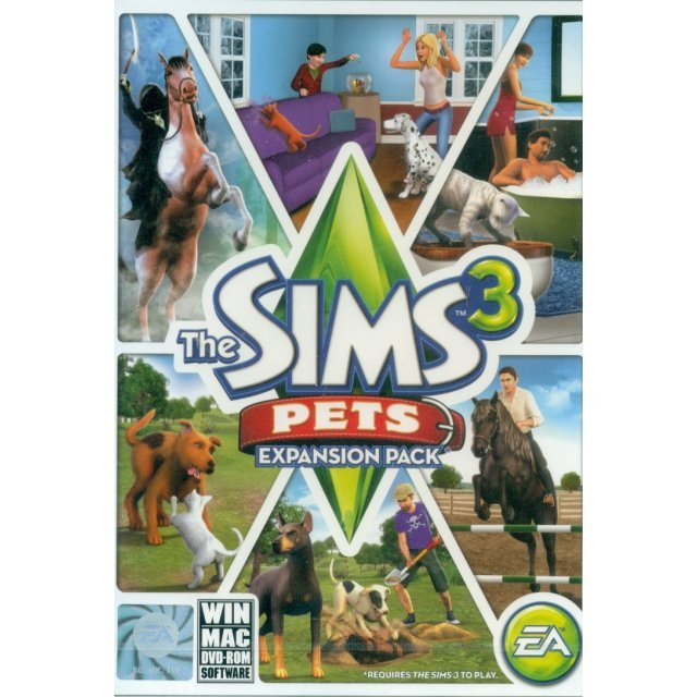 The Sims 3: Pets (Expansion Pack) (DVD-ROM)
