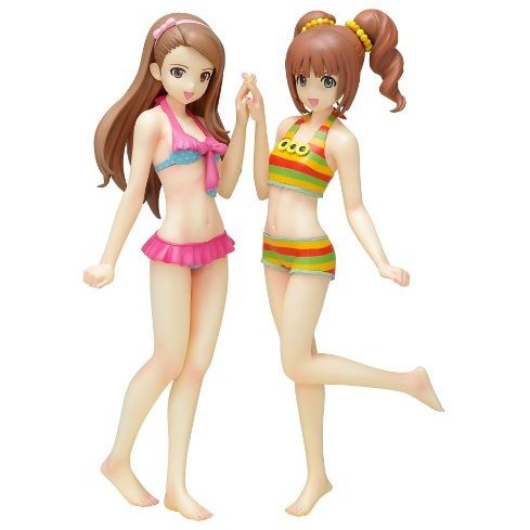 Beach Queens The Idolmaster 1/10 Scale Pre-Painted PVC Figure: Minase Iori & Takatsuki Yayoi [Limited Set Ver.]