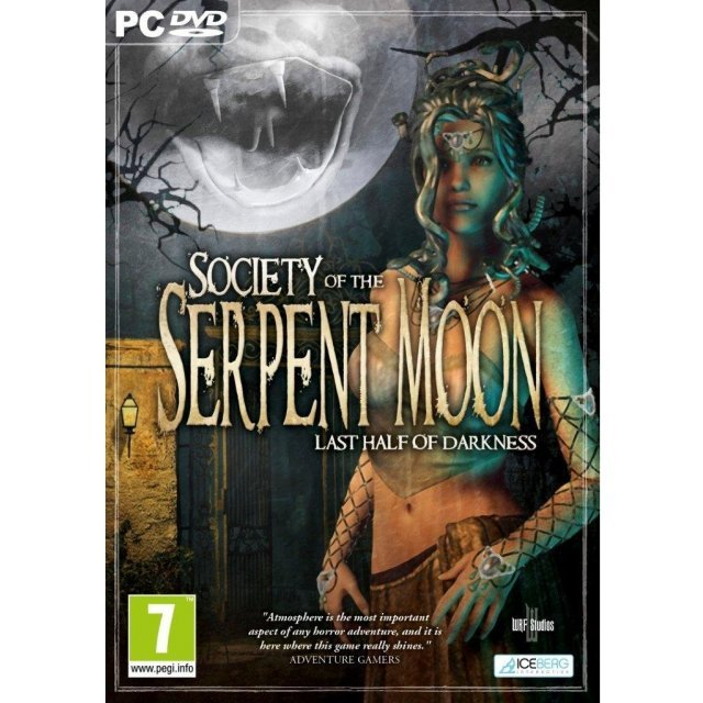 Last Half of Darkness: Society of The Serpent Moon (DVD-ROM)