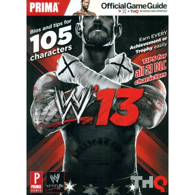 WWE '13: Prima Official Game Guide