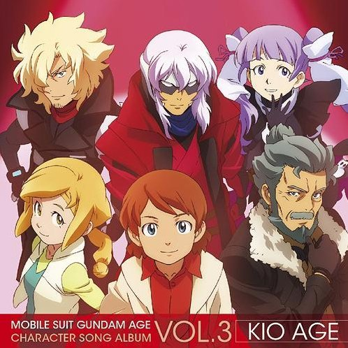 Mobile Suite Gundam Age Character Song Album Vol.3