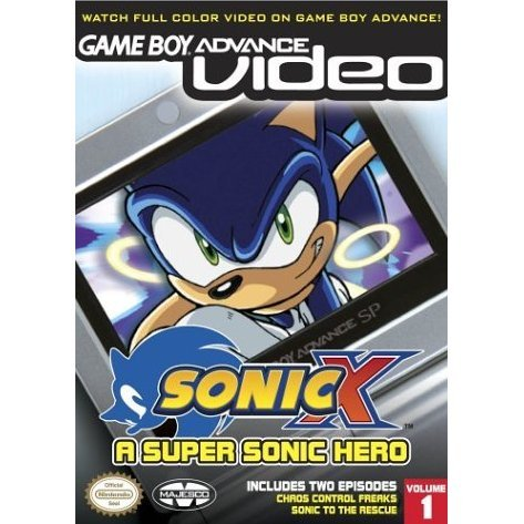 Game Boy Advance Video: Sonic X - Volume 1