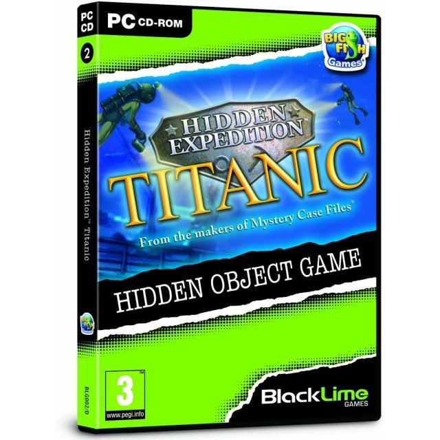Hidden Expedition: Titanic (Black Lime)