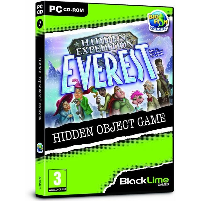 Hidden Expedition: Everest (Black Lime)