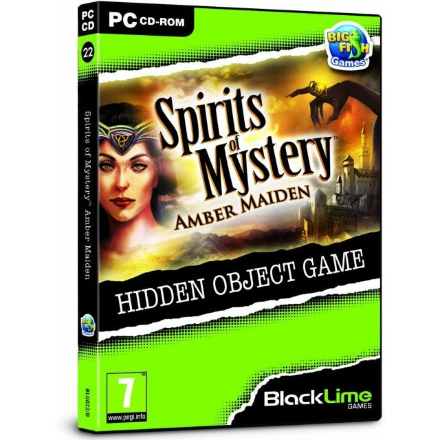 Spirits of Mystery: Amber Maiden (Black Lime)