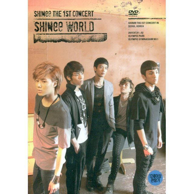 SHINee The 1st Concert 'SHINee World' [2DVD+Photobook]