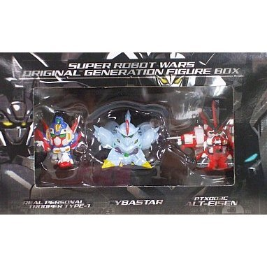 Super Robot Taisen: Original Generation Figure Box