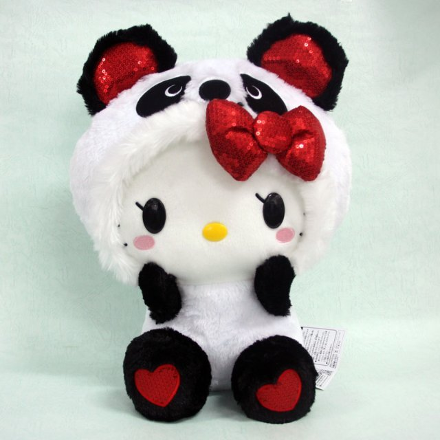 Panda Hello Kitty Plush Doll Normal Ver.