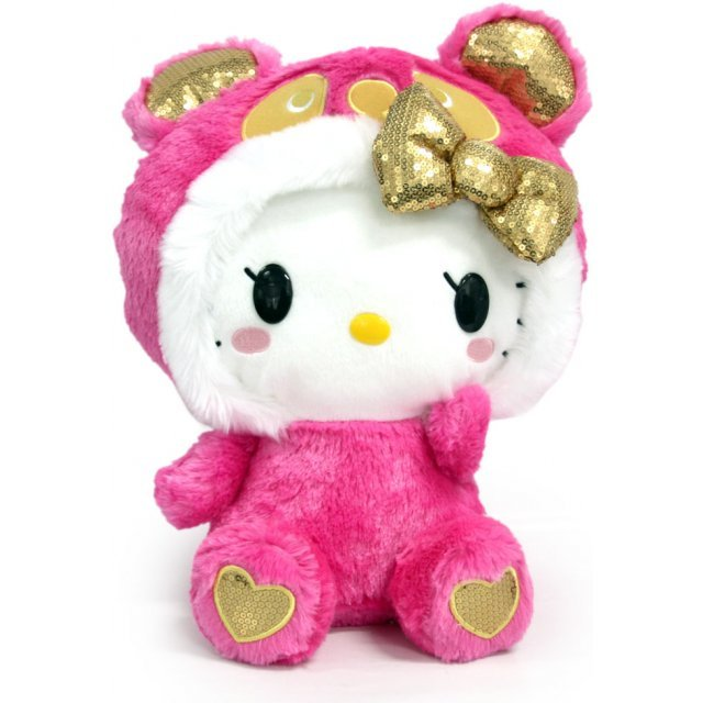 Panda Hello Kitty Plush Doll Pink Ver.