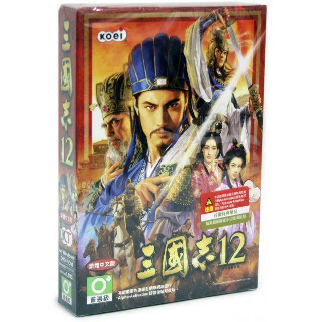 Sangokushi 12 (DVD-ROM