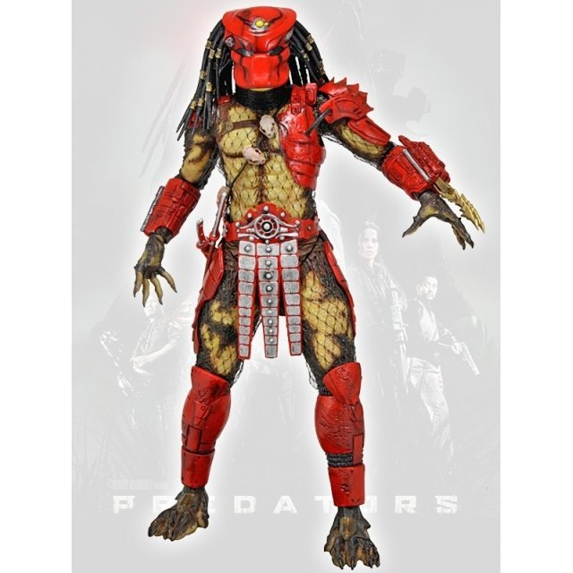 Predators 7'' Action Figure Series 7 Pre-Painted PVC Action Figure: Big Red Predator