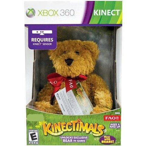 Kinectimals (Limited Edition) (Bundle with FAO Schwarz Plush Bear)
