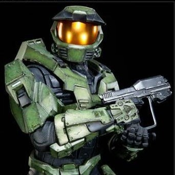 Halo Sideshow's Master Chief Premium Format Figure
