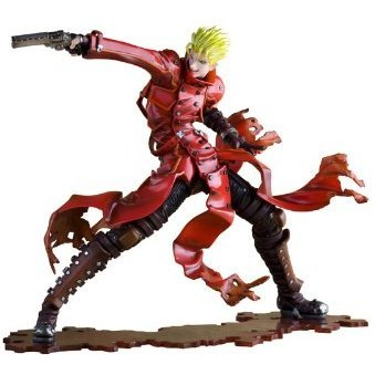 Trigun the Movie Badlands Rumble 1/8 Scale Pre-Painted PVC Figure: Vash the Stampede