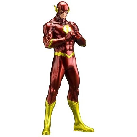 ARTFX+ DC Comics New 52 1/10 Scale Pre-Painted Figure: Flash (Re-run)