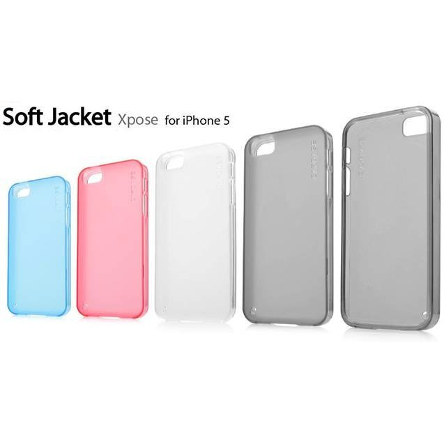 Capdase Soft Jacket Xpose for iPhone 5 (Tinted White)