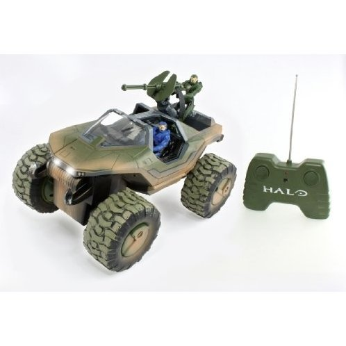 Halo 3 Radio Control Remote Control Vehicle OffRoad Warthog with Master Chief Blue Spartan