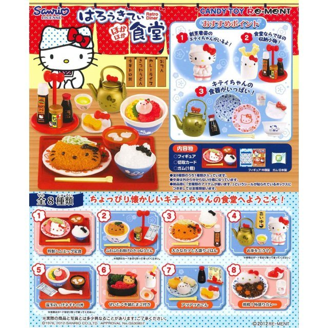 Hello Kitty Hokahoka Syokudou Candy Toy