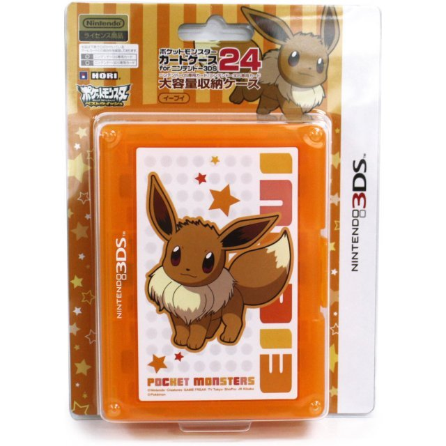 Pokemon Card Case 24 for 3DS (Eievui Version)