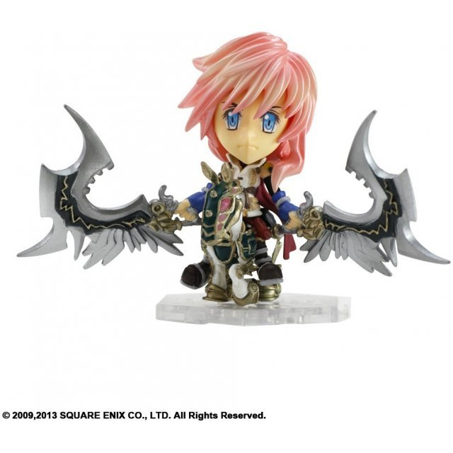 Final Fantasy Trading Arts Kai Mini Figure: Lightning