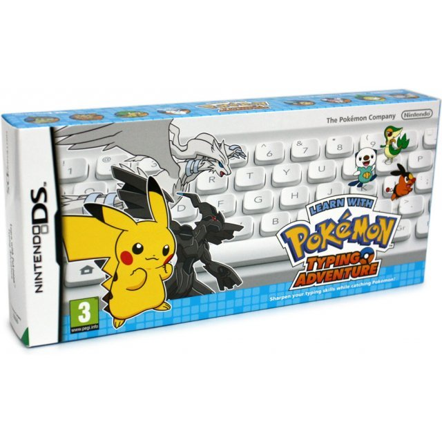 Learn with Pokemon: Typing Adventure (White Keyboard)