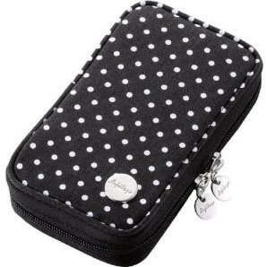 3DS Canvas Case (Black Dot)