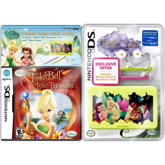 Tinker Bell and the Lost Treasure with Case Bundle
