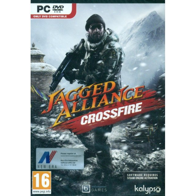 Jagged Alliance: Crossfire (DVD-ROM)