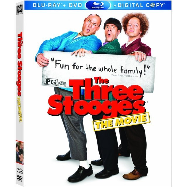 The Three Stooges [Blu-ray + DVD + Digital Copy]
