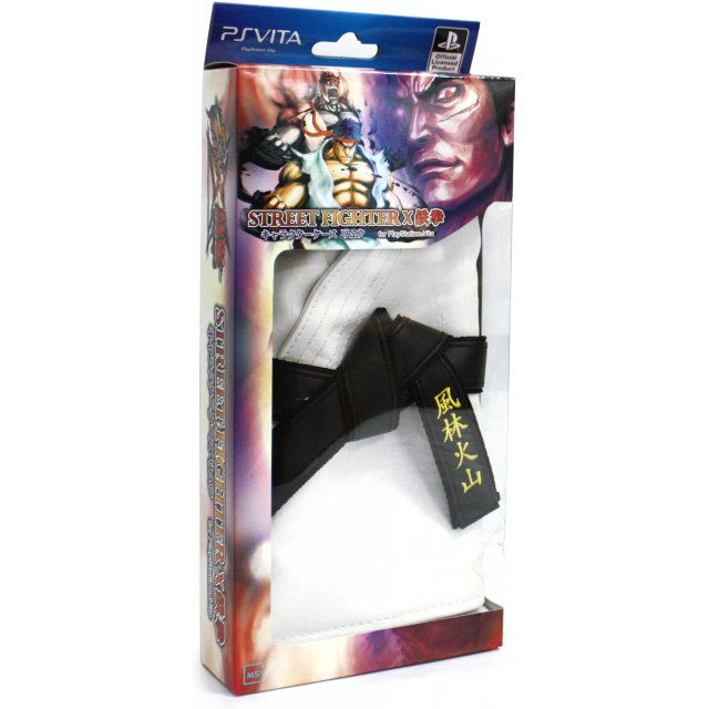 Street Fighter x Tekken Character Case Ryu Version (White)
