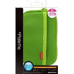 +Palette Multi Soft Pouch for 3DS (Lime Green)