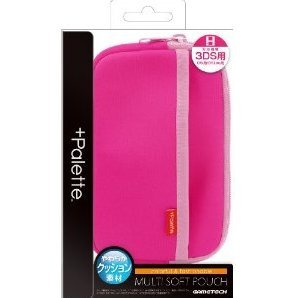 +Palette Multi Soft Pouch for 3DS (Rose Pink)