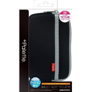 +Palette Multi Soft Pouch for 3DS (Carbon Black)