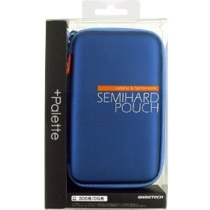 +Palette Semi Hard Pouch for 3DS (Sapphire Blue)